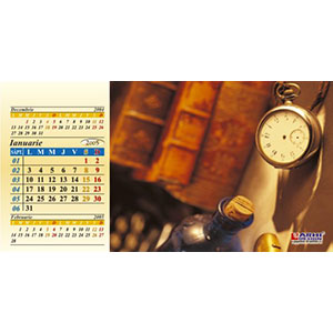 Calendar de birou triunghiular