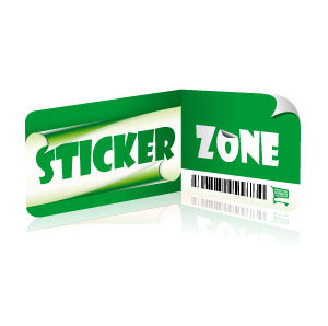 Logo Sticker  Zone