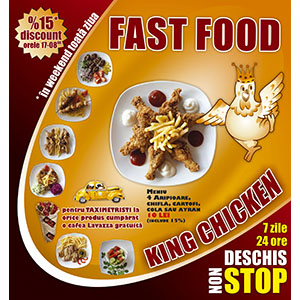 Panou king chicken